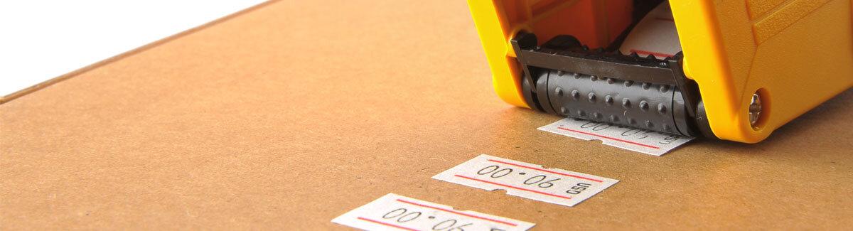 price label machine